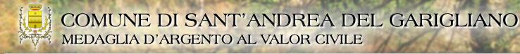 Comune di Sant'Andrea del Garigliano - sito web ufficiale dell'Amministrazione comunale